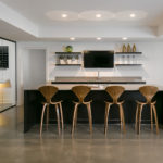 Mid Century Modern Bar Space