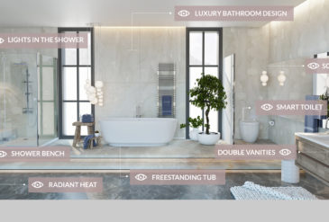 New Bathroom Trends for 2017 according to FIXR.COM